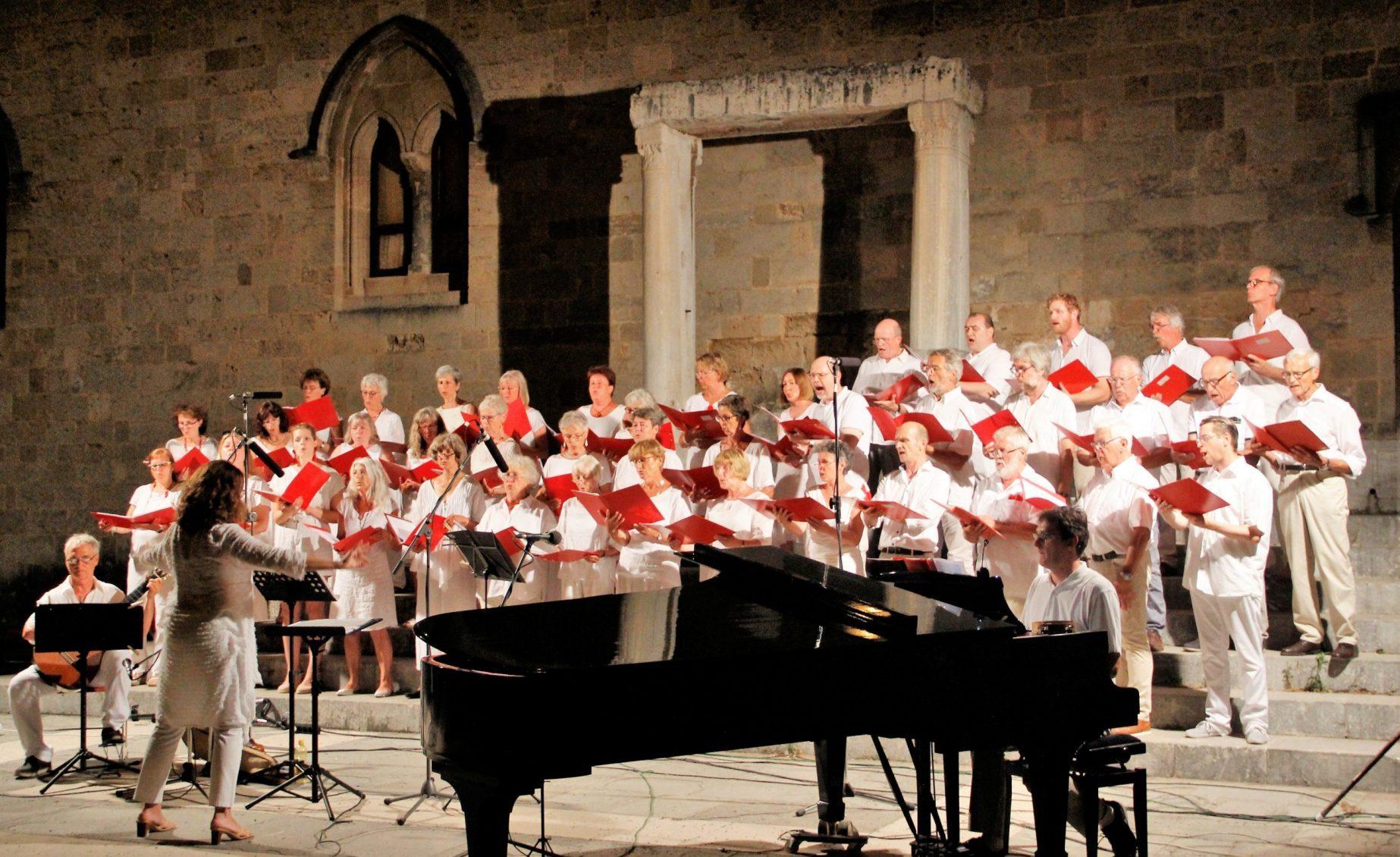 Chor Levantate, Konzert auf Rhodos 2019